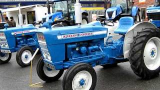 ford tractors at 50th year of does show 2010