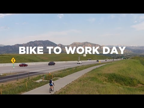 Bike To Work Day: BOULDER, CO