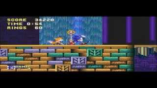 Sonic and Knuckles & Sonic 3 - ShadeLight comms Sonic 3 & knuckles Part 2: I swear, the shields are really cool!! - User video