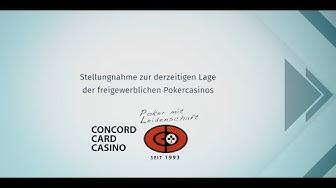 Concord Card Casino wehrt sich gegen unfaire Besteuerung