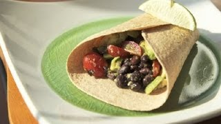 Healthy Egg & Avocado Breakfast Wrap : Healthy Breakfasts