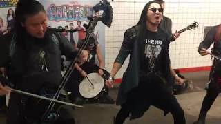 The HU - Yuve Yuve Yu (Subway Pop Up Show)