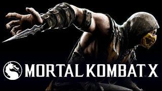 MORTAL KOMBAT X распаковка, прохождение на русском языке PS4 Глава 1