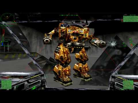 Trash the Factory! - MechWarrior 3 HD Online Play