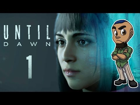 Until Dawn | Part 1 | THE TWINS, MYSTERY MAN, & THE ANALYST