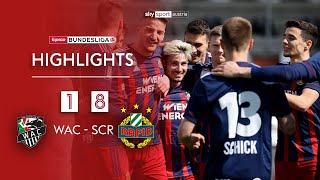 Tipico Bundesliga, 23. Runde: Wolfsberger AC - SK Rapid Wien 1:8