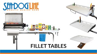 Fillet Tables by Sea-Dog Line