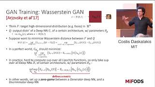 Costis Daskalakis (MIT) -- Improving GANs using Game Theory and Statistics