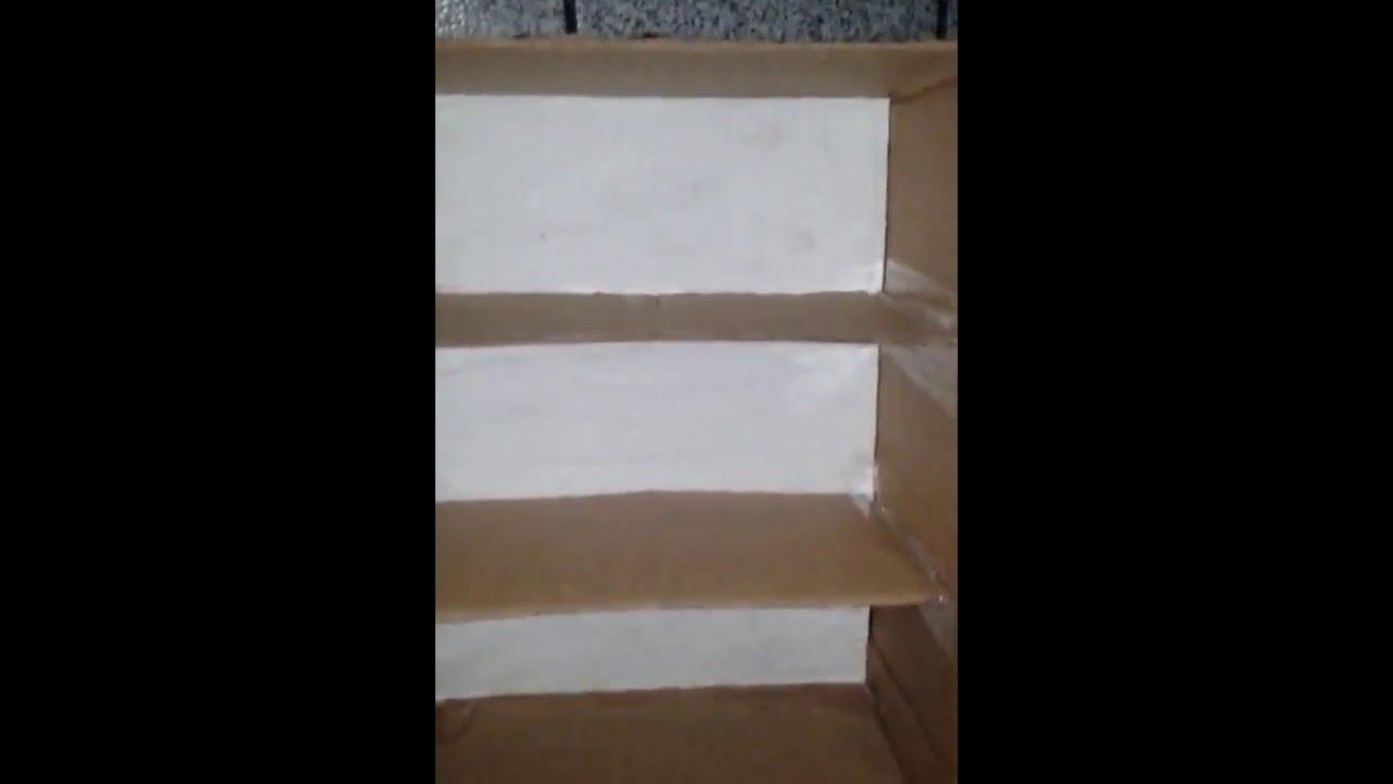 Armario ou guarda roupa de papel o youtube for Armario de jardin pvc