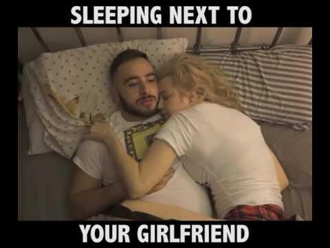 Как спят девушки, вспомни себя