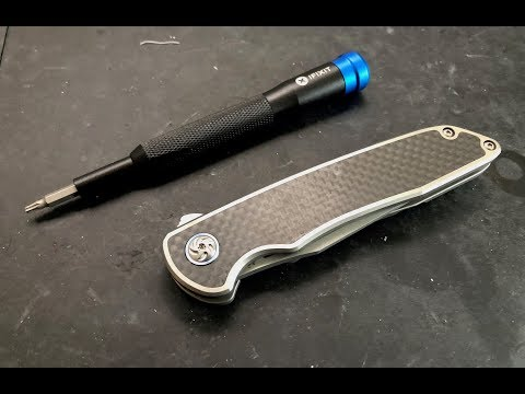 How to disassemble and maintain the Kizer Matanzas Knife