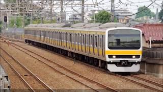 【JR東】~武蔵野線 209系 初の菱形パンタグラフ~209系500番台@ケヨM81編成 営業運転開始
