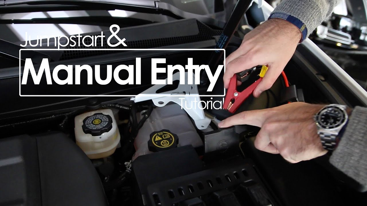 SRX Jumpstart and Manual Entry | Tutorial - YouTube