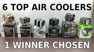 The Best High-End Air Cooler - 6 Top Coolers Tested, 1 Winner Chosen