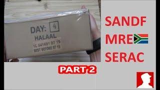 South African Ration Review: SANDF 24H MRE Menu 4 Part 2 of 2