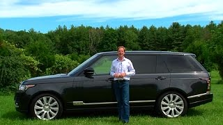 2015 Range Rover S/C LWB - TestDriveNow.com Review by Auto Critic Steve Hammes | TestDriveNow
