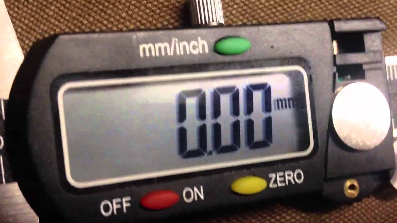 New Sr44 Battery In My Digital Calipers