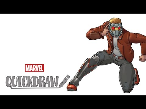 Thumbnail: Watch Star-Lord come to life - Marvel Quickdraw