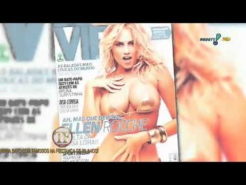 Ellen Rocche fala sobre novo ensaio sensual na revista