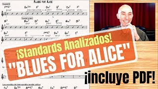 "¡Standards analizados! ""Blues For Alice"" 