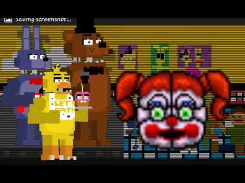 Fnaf 5 sister location minigame youtube