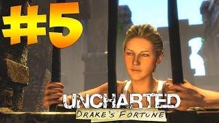 Uncharted: Drake's Fortune PS4. Прохождение. Часть 5 (Елена где ты)