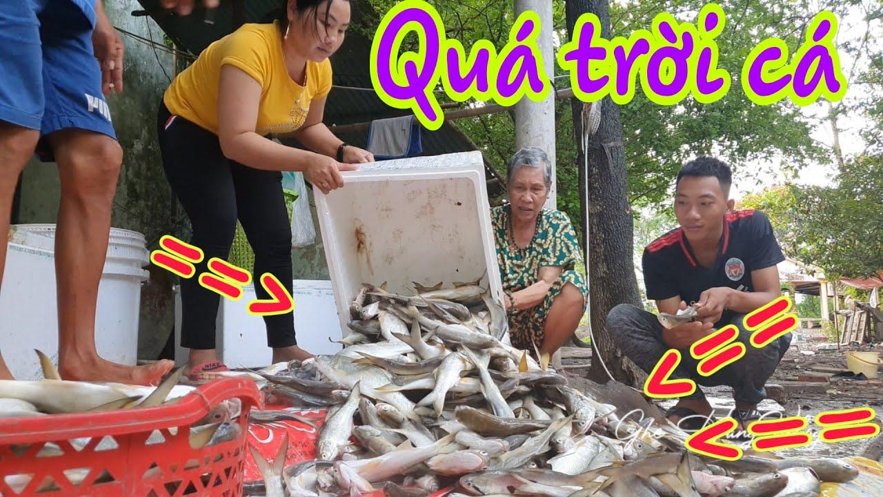 Ra chợ Cả Nẩy Năm Căn Bán Cá p2 - Cuộc Cuộc Sống Ghe