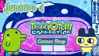Jugando a Tamagochi Connection Corner Shop (Ds): Trabajando con minijuegos
