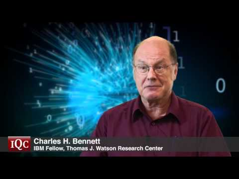 The Fathers of Quantum Cryptography - Charles Bennett