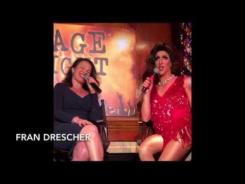 Fran Drescher & Priscilla Lopez at STAGE FRIGHT