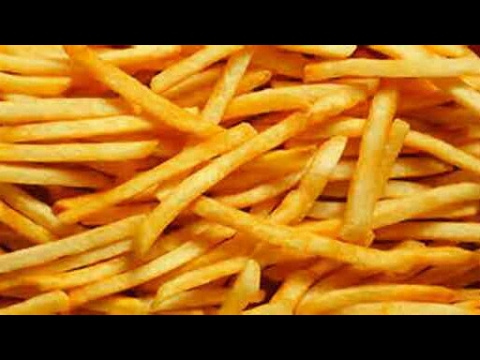 French Fries Recipe With English Subtitles Mcdonalds French Fries Recipe Potato Crispy French Fries