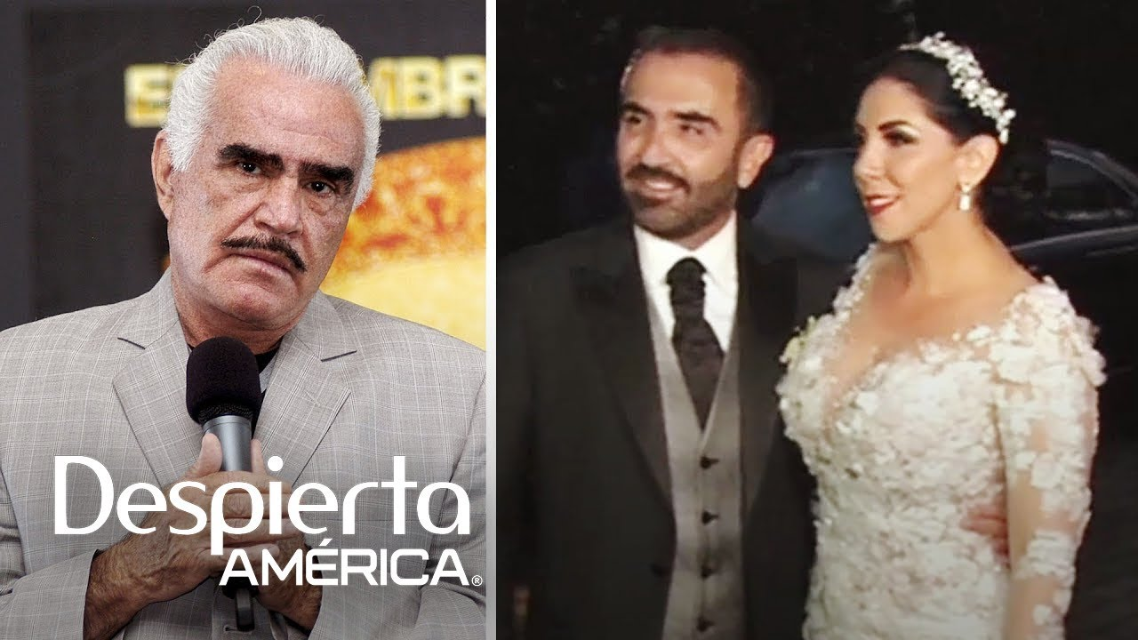 Por qué Vicente Fernández no asistió a la boda de su hijo