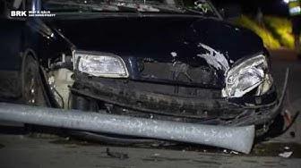 Dussnang TG: 18 jähriger verursacht spektakulären Verkehrsunfall im Thurgau - mit 1.9 Promille