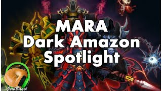 SUMMONERS WAR : Mara (Dark Amazon) Spotlight & Runes