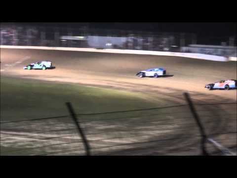 Modified B-main #2 From Portsmouth Raceway Park, 8/17/13.