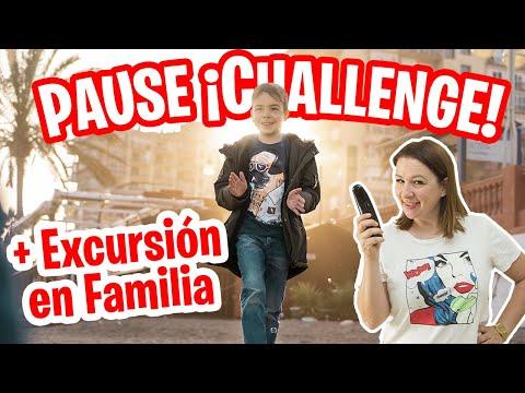 PAUSE CHALLENGE + Excursión En FAMILIA // Familukis Reto De La Pausa