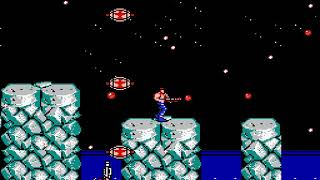 """[TAS] NES Contra """"pacifist"""" by Mars608 & aiqiyou in 08:48.61"""