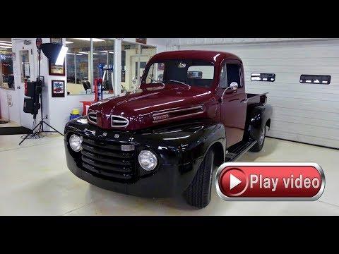 1950 Ford F 1 Pickup Truck Modern Drivetrain