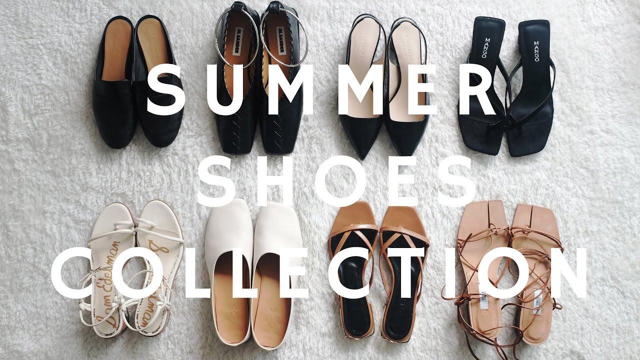 Summer Shoes Collection2020| 春夏凉鞋合集2020 | 舒适百搭 | Cos, Jil Sander, Everlane, Miista, Mango