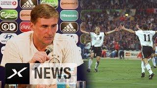 Stefan Kuntz' Erinnerungs-Show an Wembley 1996   U21-EM   England - Deutschland