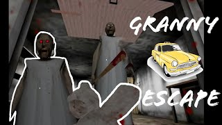 I DID ESCAPED GRANNY HOUSE BY CAR GRANNY FACE IS MUST SEEN IN THE END - MEHDI XT