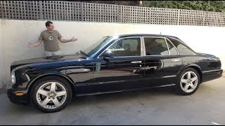 homepage tile video photo for The Bentley Arnage Is the Ultimate $30,000 Luxury Car