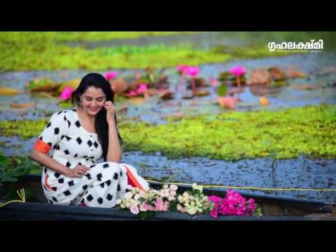 Manju Warrier photoshoot for Grihalakshmi New year Issue
