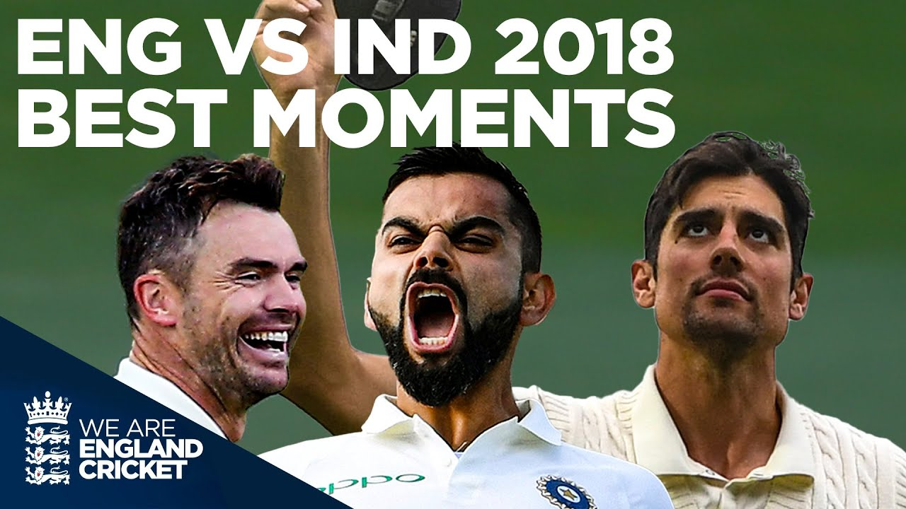 What a Series! King Kohli, Anderson's Record, Cook's Goodbye & More!   Best Moments   Eng v Ind 2018