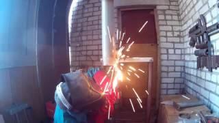 Сварка заглушки на трубу в потолочном положении(В этом видео будем приваривать заглушку на трубу в потолочном положении., 2016-09-01T16:42:27.000Z)