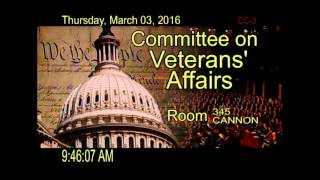 Joint Hearing to Receive Legislative Priorities from Veterans Service Organizations