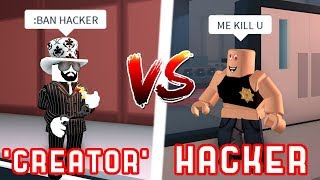 ASIMO VS HACKER!? - Roblox Jailbreak Fake Asimo Trolling