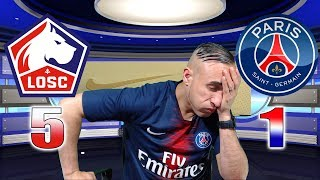 LILLE 5-1 PARIS SG - LA H😡NTE!!! - Azéd Stories