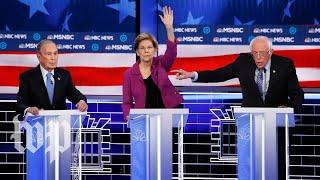 Democratic candidates hammer Mike Bloomberg at Nevada debate