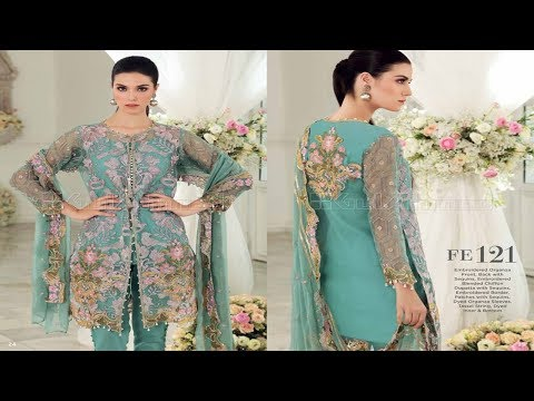 0fb09bc2f9 Latest Gul Ahmed's Festive Jewelled Collection 2018 - YouTube